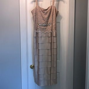 Jessica Howard khaki color dress